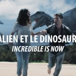 The alien and the dinosaure - Asus